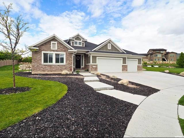11569 N Maple Hollow Ct W, Highland, UT 84003 (#1603517) :: The Canovo Group