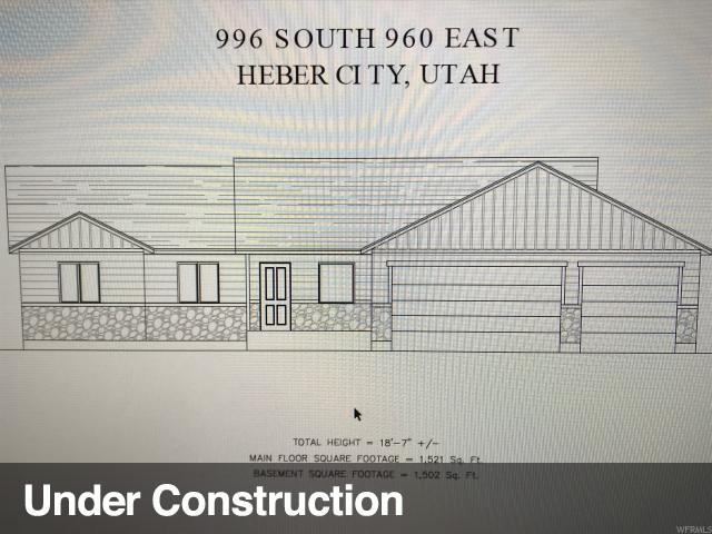 996 S 960 E #17, Heber City, UT 84032 (MLS #1603653) :: High Country Properties