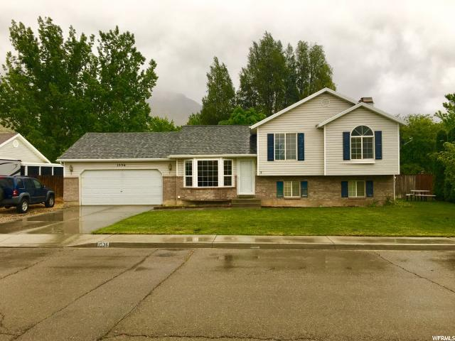 1536 N 460 W, Pleasant Grove, UT 84062 (#1603692) :: Red Sign Team