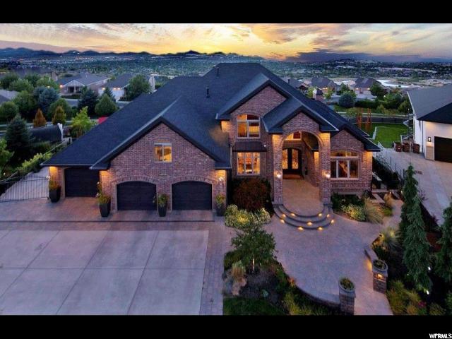 14032 S Canyon Vista Ln E, Draper, UT 84020 (#1603740) :: Colemere Realty Associates