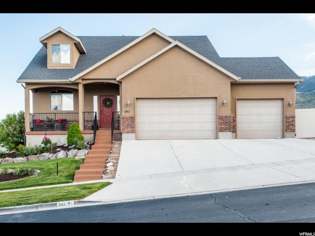 247 W Wrangler Ave S, Saratoga Springs, UT 84045 (#1604139) :: The Canovo Group