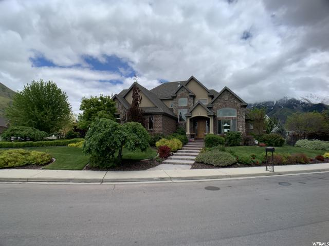 1147 S 2200 E.  (CAMELS BACK DR) E, Springville, UT 84663 (#1604197) :: The Canovo Group