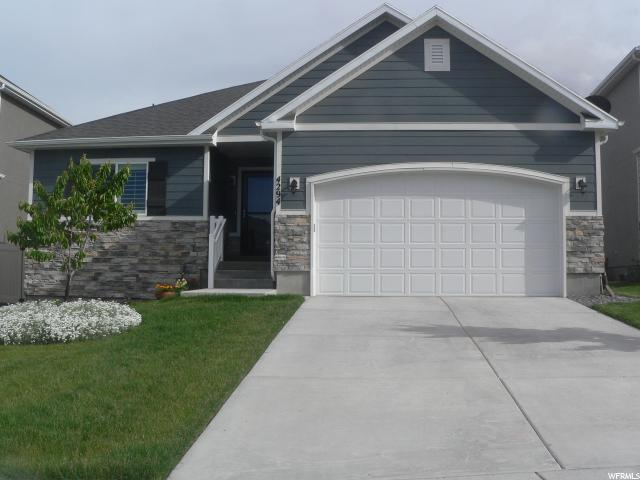 4294 E Evans Ranch Dr #19, Eagle Mountain, UT 84005 (#1604655) :: Bustos Real Estate   Keller Williams Utah Realtors