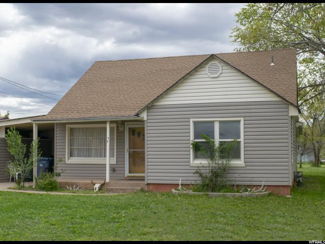 72 S 300 E, Parowan, UT 84761 (#1605177) :: Doxey Real Estate Group