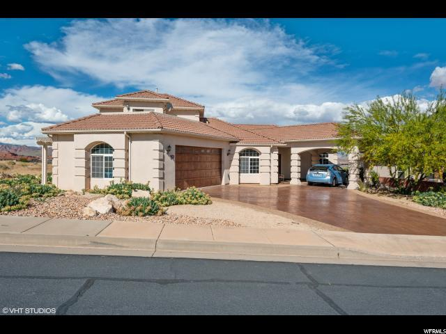 10 N Crest Line, St. George, UT 84790 (#1605191) :: RE/MAX Equity