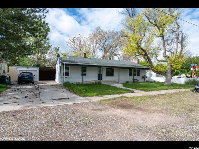 61 W 400 N, Parowan, UT 84761 (#1605250) :: Doxey Real Estate Group