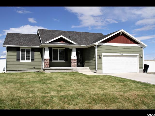 4121 N Rose Springs Rd W, Erda, UT 84074 (#1605782) :: Exit Realty Success