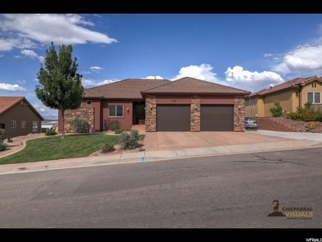 1593 S Scenic Sunrise Dr, Washington, UT 84780 (#1605994) :: Action Team Realty