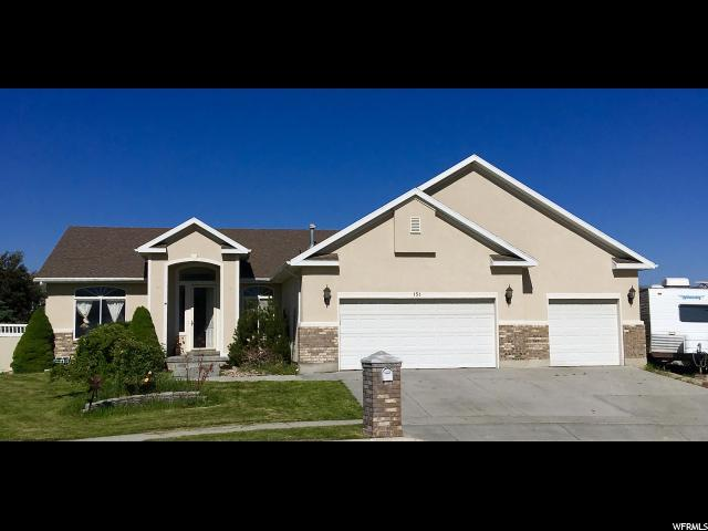 151 W Stern Ct N, Stansbury Park, UT 84074 (#1606838) :: Red Sign Team