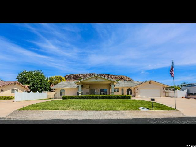 1632 Shivwits Dr, St. George, UT 84790 (#1608499) :: The Fields Team