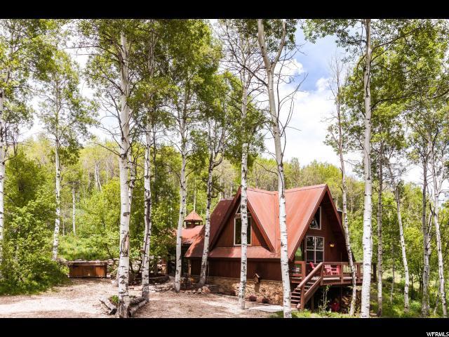 742 W Shady Ln, Wanship, UT 84017 (MLS #1608911) :: High Country Properties
