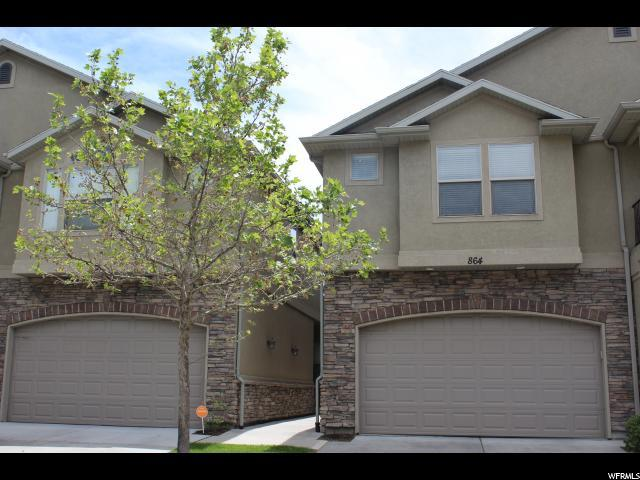 864 E Red Sage Ln S, Murray, UT 84107 (#1609405) :: Action Team Realty