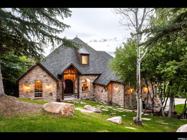 7303 Pine Ridge Dr, Park City, UT 84098 (#1609706) :: goBE Realty