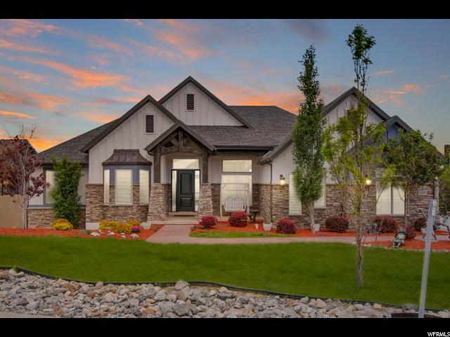 1517 E Trail Crest Ct S, Draper, UT 84020 (#1609740) :: Bustos Real Estate | Keller Williams Utah Realtors