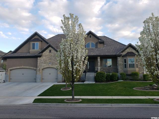 6951 W Coyote Ridge Cir, Herriman, UT 84096 (#1609754) :: Bustos Real Estate | Keller Williams Utah Realtors