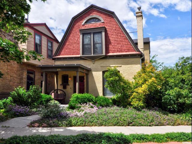 371 N Wall St, Salt Lake City, UT 84103 (#1609827) :: Bustos Real Estate | Keller Williams Utah Realtors