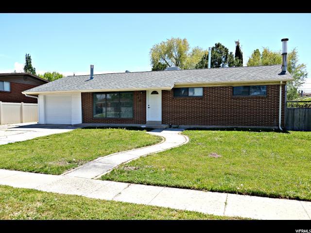 258 E Twin Peaks Dr S, Midvale, UT 84047 (#1610285) :: Bustos Real Estate | Keller Williams Utah Realtors