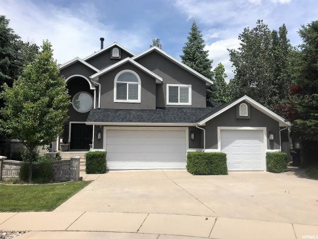 2747 E Palma Way S, Cottonwood Heights, UT 84121 (#1610658) :: Red Sign Team