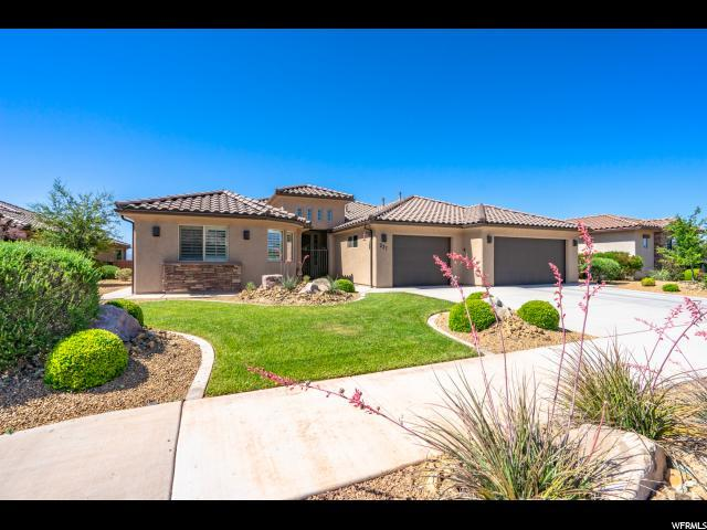 237 W Talon Ct, Ivins, UT 84738 (#1610991) :: Red Sign Team