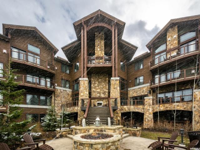 2100 Frostwood Blvd #4147, Park City, UT 84098 (MLS #1611033) :: High Country Properties