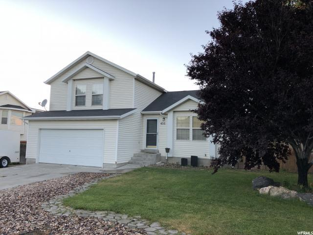451 E 740 N, Tooele, UT 84074 (#1611132) :: Red Sign Team