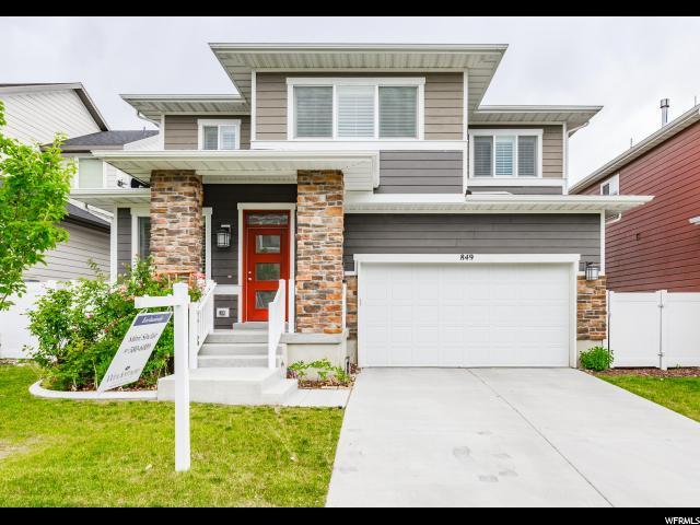 849 W Jayda Lyn Ct S, Midvale, UT 84047 (#1611303) :: Bustos Real Estate | Keller Williams Utah Realtors