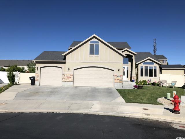 5766 W Moon Crest Ct S, West Jordan, UT 84081 (#1611456) :: Bustos Real Estate   Keller Williams Utah Realtors