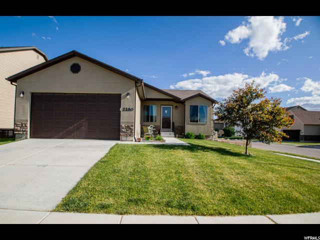2280 Hitching Post Dr E, Eagle Mountain, UT 84005 (#1611545) :: goBE Realty