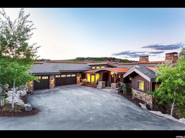 7832 N Promontory Ranch Rd, Park City, UT 84098 (MLS #1611962) :: High Country Properties