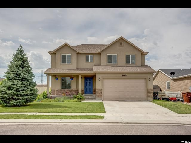 2454 E Hitching Post Dr., Eagle Mountain, UT 84005 (#1612211) :: Action Team Realty