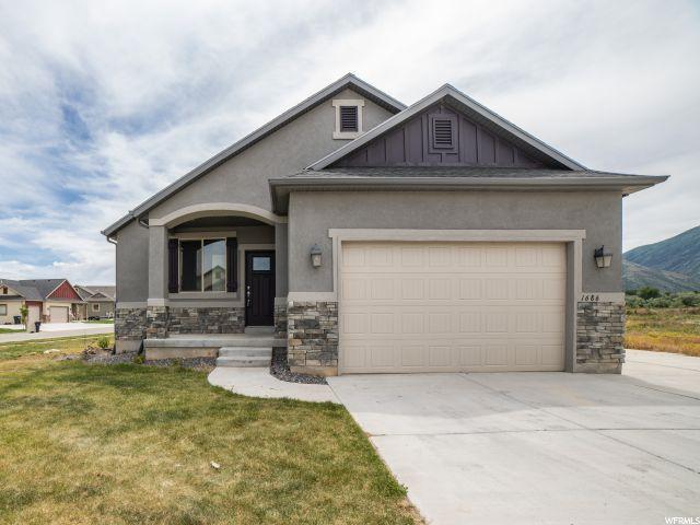 1686 N Wood Thrush Cv E #16, Salem, UT 84653 (#1612379) :: Bustos Real Estate | Keller Williams Utah Realtors