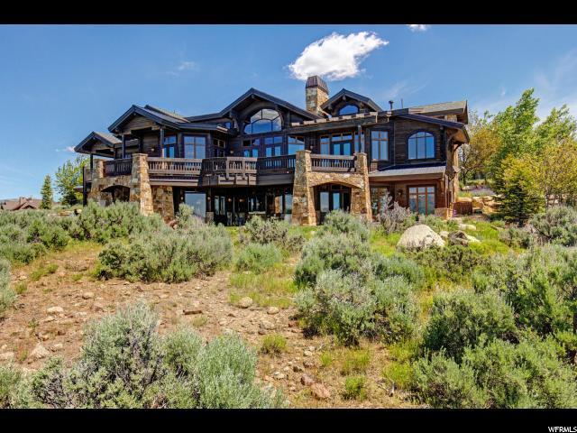 8050 N West Hills Trl, Park City, UT 84098 (MLS #1612958) :: High Country Properties