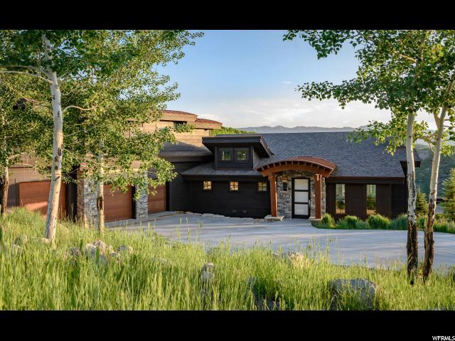 2142 E Canyon Gate Rd, Park City, UT 84098 (MLS #1613163) :: High Country Properties