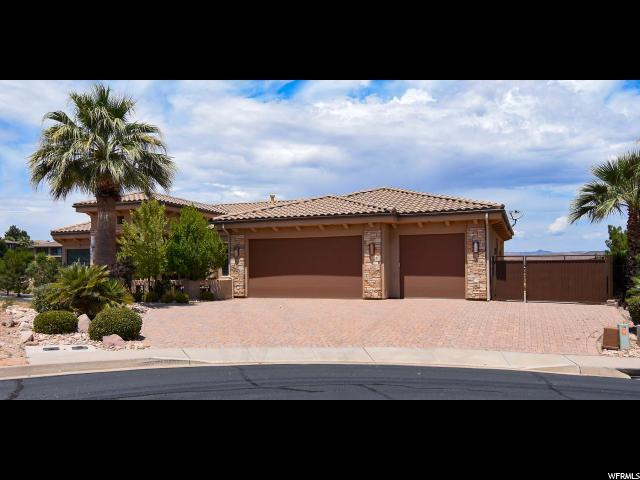 1608 S Agate Cir, St. George, UT 84790 (#1613409) :: Doxey Real Estate Group