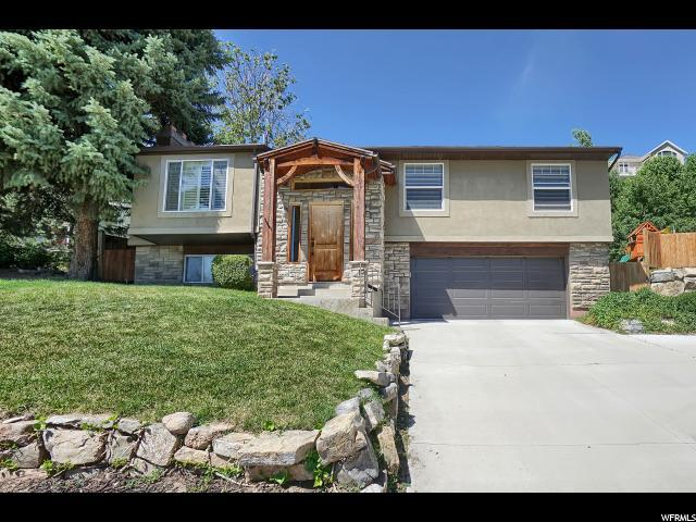 2585 E Chalet Cir S, Sandy, UT 84093 (#1613481) :: Red Sign Team