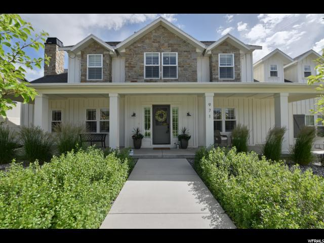 971 W Ginger Fox Dr S, Bluffdale, UT 84065 (#1613792) :: Big Key Real Estate