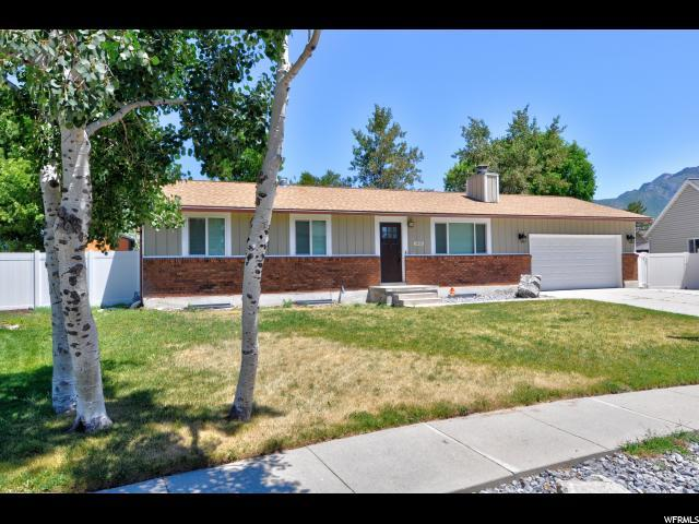 1413 E Cedar Crest Dr, Sandy, UT 84092 (#1614154) :: Red Sign Team
