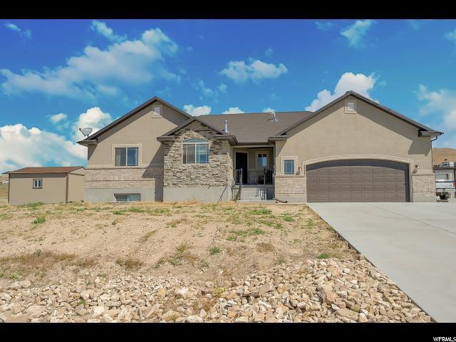 1812 W Rim Rock Dr S, Stockton, UT 84071 (#1614207) :: Big Key Real Estate