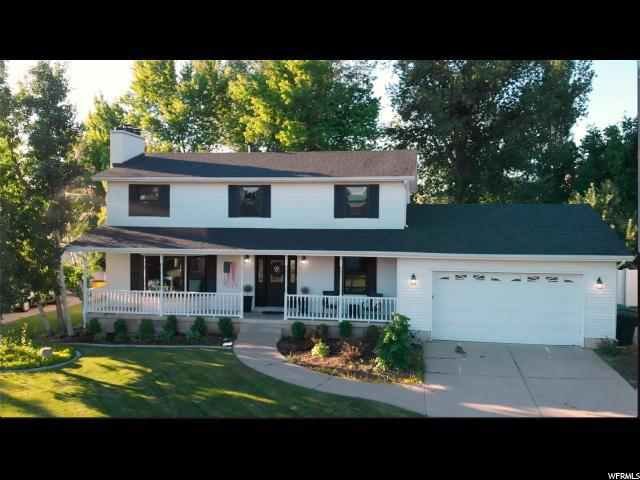 1105 E Creekview Dr S, Fruit Heights, UT 84037 (#1614216) :: Red Sign Team