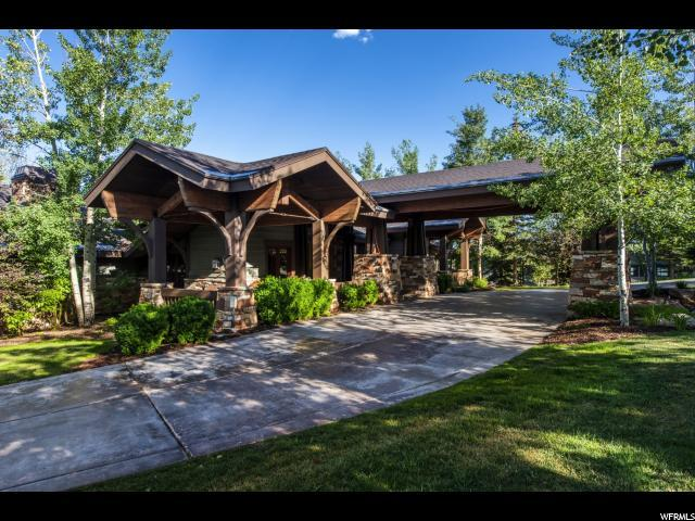7838 Glenwild Dr, Park City, UT 84098 (#1614282) :: The Canovo Group