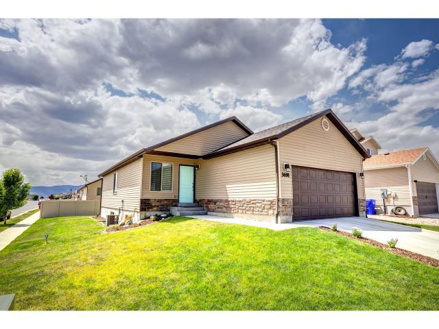 3691 N Tumwater Dr E, Eagle Mountain, UT 84005 (#1615457) :: Red Sign Team