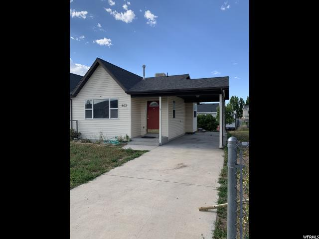 862 W 700 S, Tooele, UT 84074 (#1615855) :: Big Key Real Estate