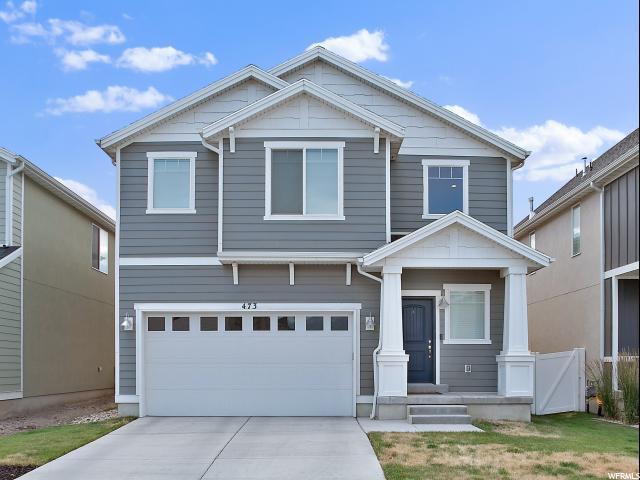 473 S Burr Oak Ln W, Saratoga Springs, UT 84045 (#1616000) :: goBE Realty