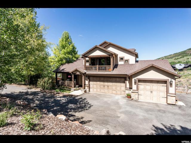 9008 N Cheyenne Way, Park City, UT 84098 (#1616055) :: Colemere Realty Associates