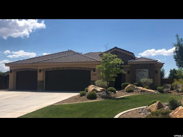 3314 S 3020 E, St. George, UT 84790 (#1616445) :: Doxey Real Estate Group