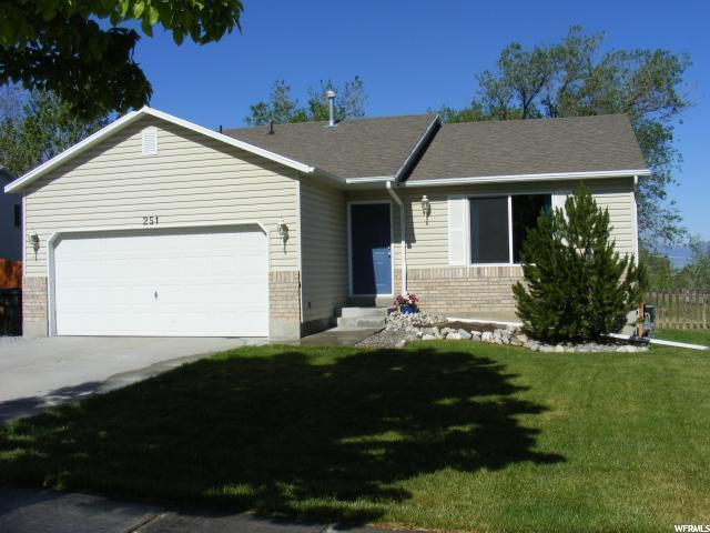 251 N 630 E, Tooele, UT 84074 (#1616452) :: Big Key Real Estate