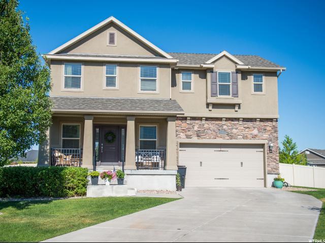 879 W Saddlebrook Dr, Kaysville, UT 84037 (#1616613) :: Keller Williams Legacy