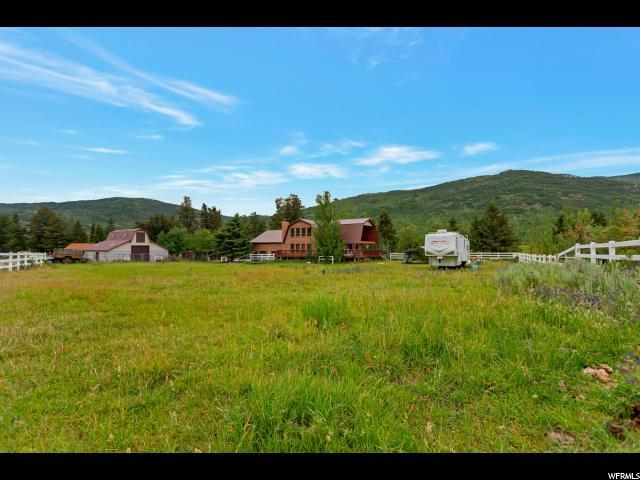 6483 E Weber Cyn, Oakley, UT 84055 (MLS #1616689) :: High Country Properties