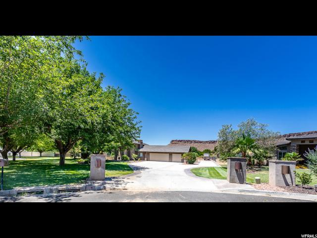 364 W Count Fleet Rd, St. George, UT 84790 (#1616770) :: Red Sign Team