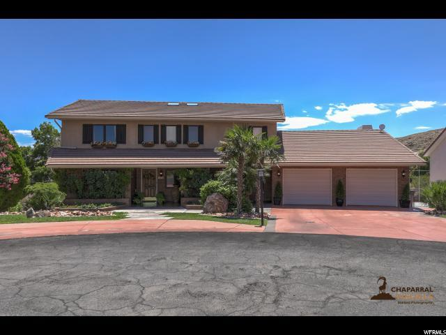 2141 Harmony Cir, Bloomington, UT 84790 (#1616983) :: Colemere Realty Associates